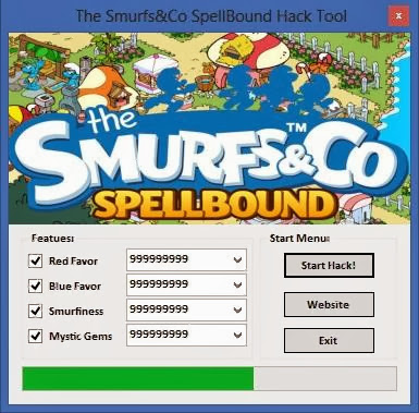 Download Free The Smurfs And Co Spellbound Hack Unlimited Red Favor,Blue Favor,Smurfiness,Mystic Gems 100% working and Tested for IOS and Android MOD.