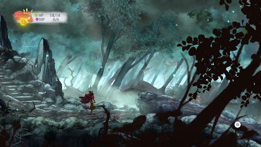 One Guy, Too Many Games: Child of Light: Review