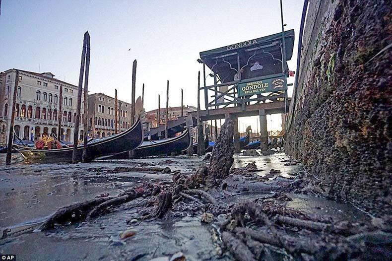 Venecia sin agua, al descubierto | Italia