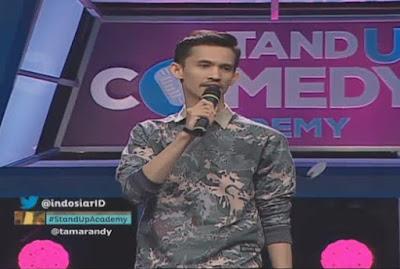 Tama Randy Bandung stand up comedy academy indosiar