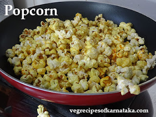 Pop corn recipe in Kannada