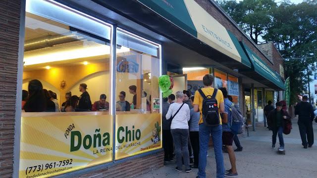 Fonda Dona Chio, Rogers Park, tacos
