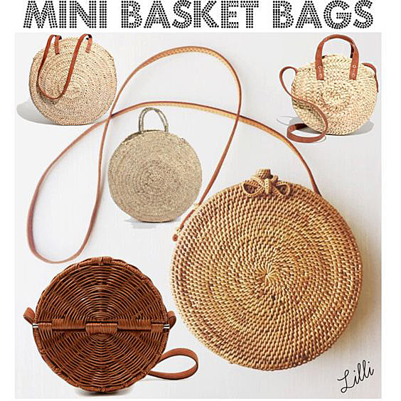 Mini Basket Bags