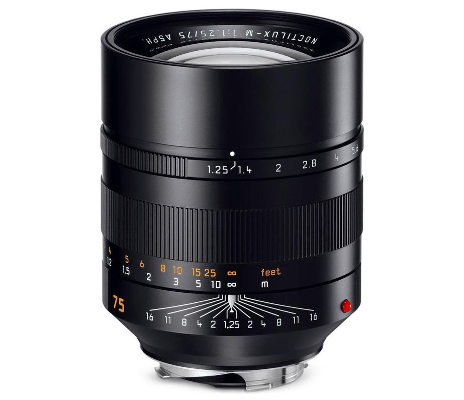 Leica Noctilux-M 75mm f/1.25 Aspherical