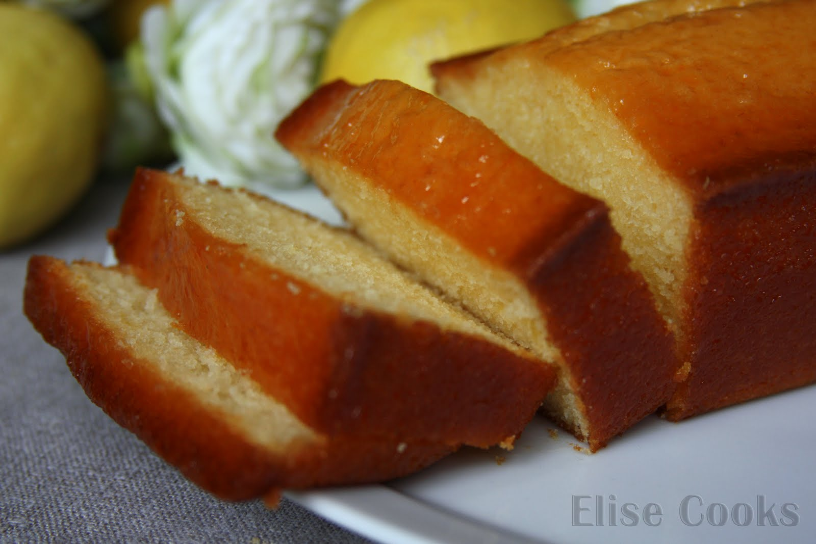 Cake Au Jus Citron