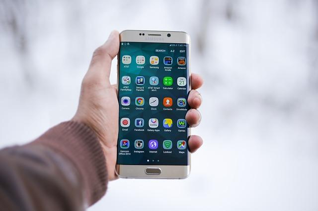 Smartphone Technology Mockup Apps Mobile Phone