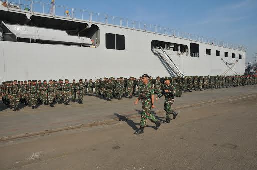 500 Prajurit TNI Selesai Laksanakan Latgabma Malindo Darsasa-9 AB/2016