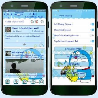 BBM MOD Doraemon Blue v3.2.2.8 APK