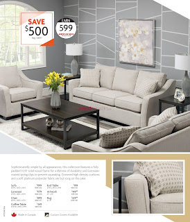 Home Furniture Flyer March 4 - 29, 2018