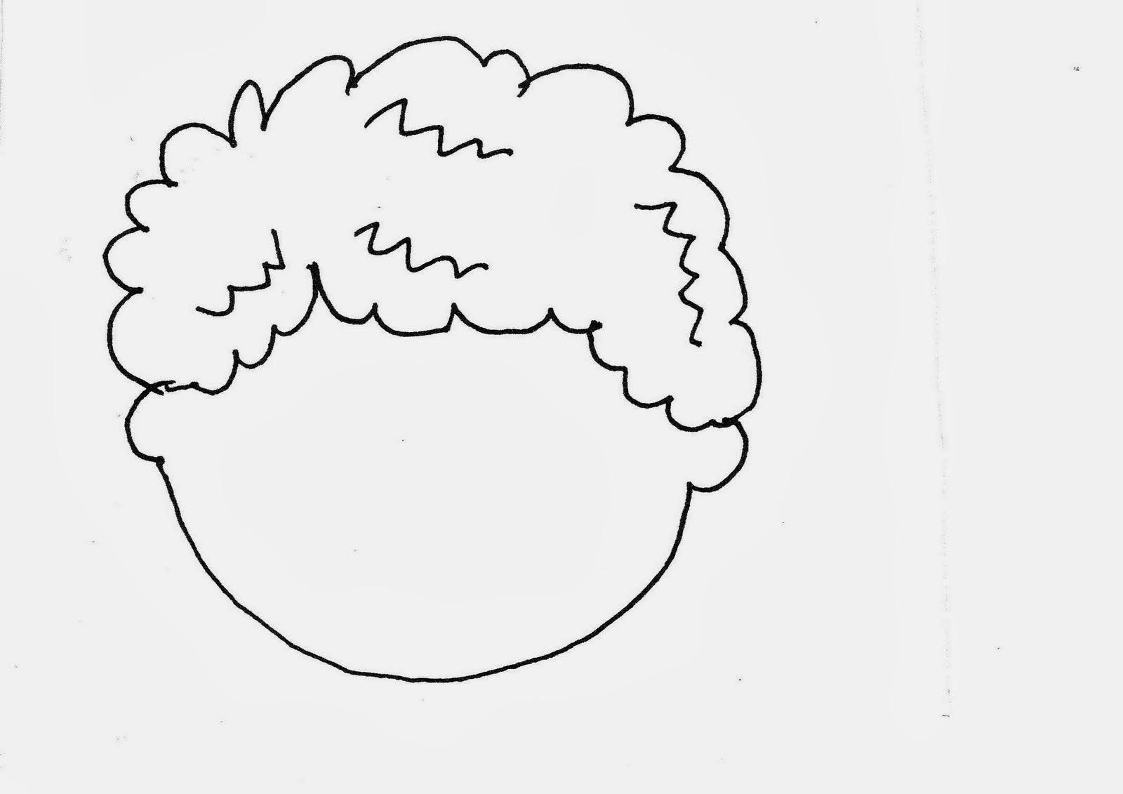 Dibujos De Aplicacio De Partes De La Cara: Atividades De Recortar E Colar #1
