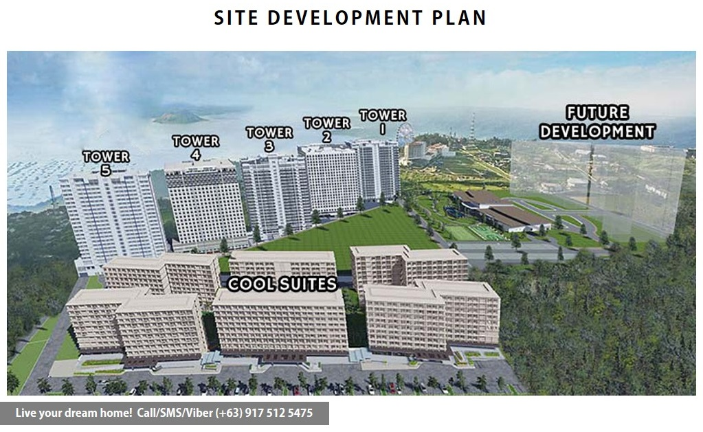 Site Development Plan | SMDC Wind Residences - Resort Residential End Unit 1 | Condominium for Sale Tagaytay Cavite