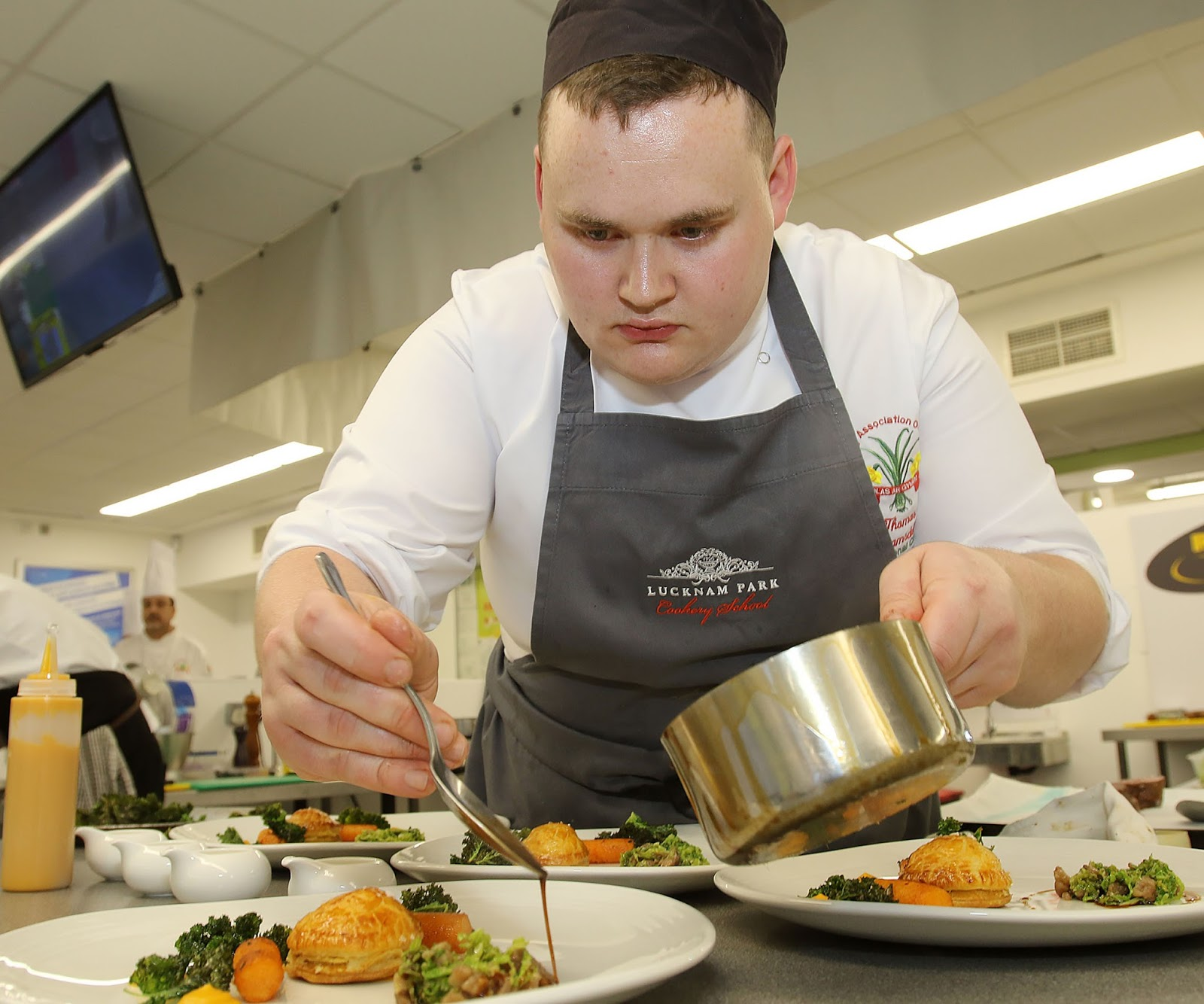 29b7ac04f6a077 Tom Westerland who will be competing. in the National Chef of Wales ...