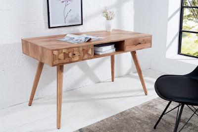 písacie stolíky Reaction, konzoly z masívu, drevený nábytok