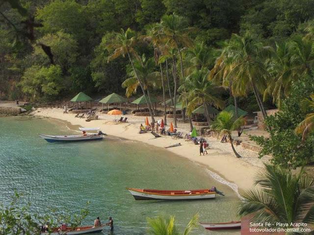 Atracaron a 50 personas en Playa Arapito mientras bonchaban rascados
