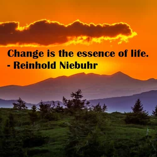 Change quotes and sayings from famous people