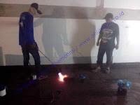 Waterproofing membrane bakar untuk area cool room