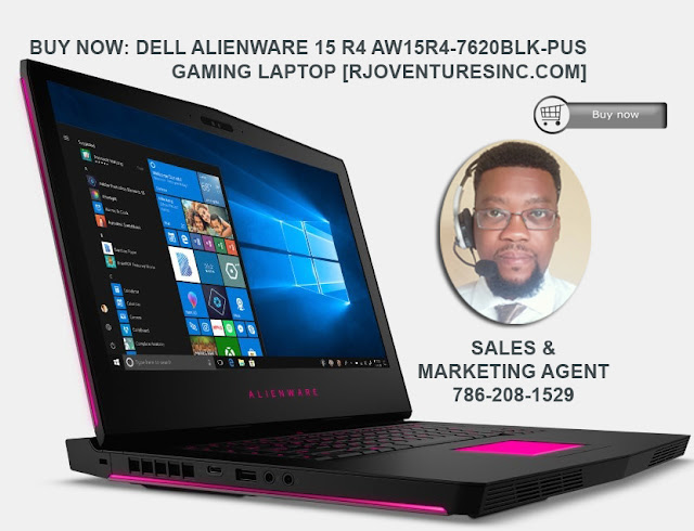 Buy Now: Dell Alienware 15 R4 AW15R4-7620BLK-PUS Gaming Laptop [RJOVenturesInc.com]