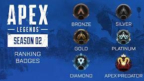 [Apex Legends] Giải thích về cách hoạt động của hệ thống rank trong Season 2
