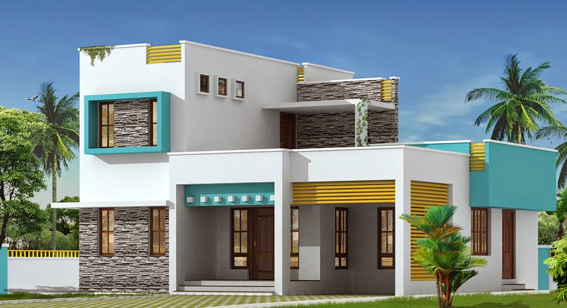 Simple Design House 3 Bedrooms Home & Garden Design