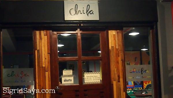 Chifa Peruvian restaurant Bacolod