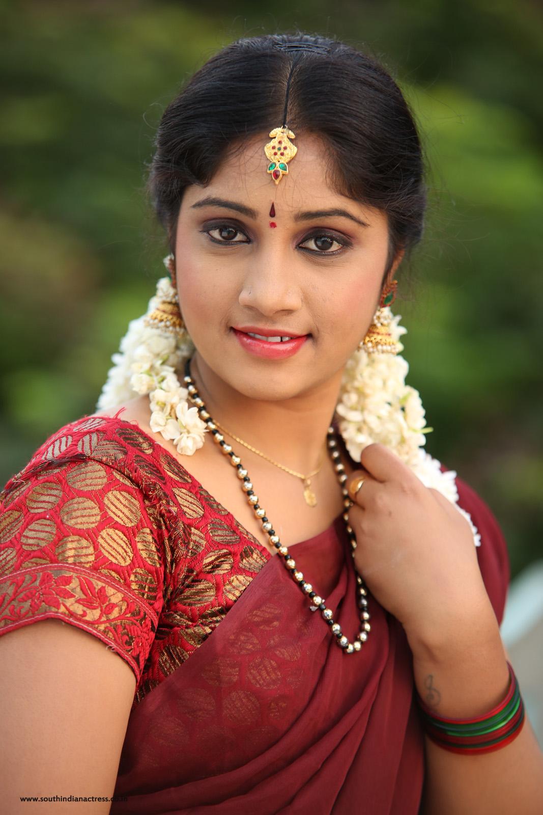 Telugu Actress Gagana In Half Saree Photos - South Indian -6675