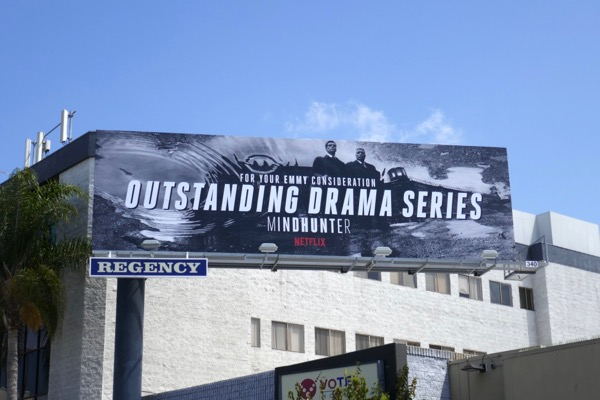 Mindhunter Outstanding Drama 2018 Emmy FYC billboard