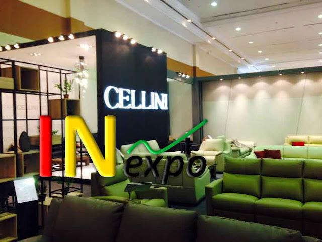 BOOTH CELLINI PADA FURNITURE EXPO 2015 JCC Inexpo Konrtaktor Booth Pameran