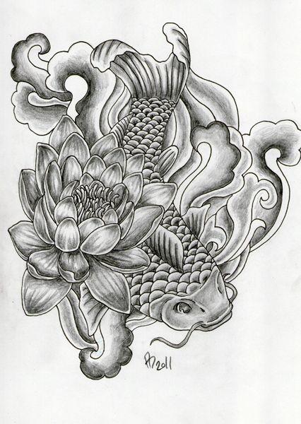 Desenhos De Tatuagens Carpa Para Downloads Downloads De Desenhos