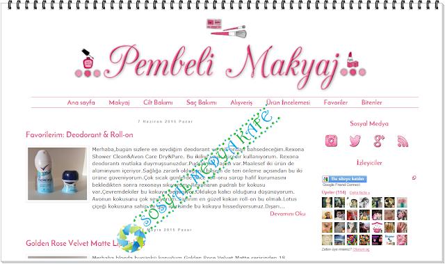 pembeli makyaj yeni blogger şablon tema tasarımı
