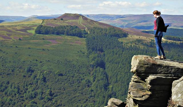 Bamford Edge Derbyshire UK