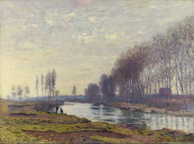 Monet Seine at Argenteuil