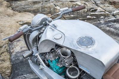 Yamaha GTS 1000 Custom fuel tank