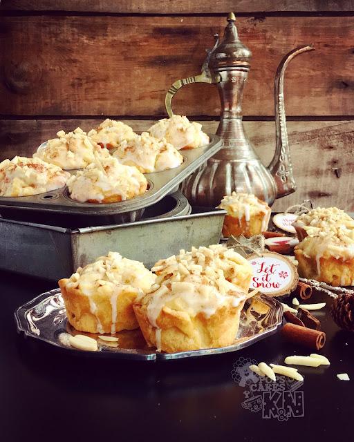 muffins-manzana-especias