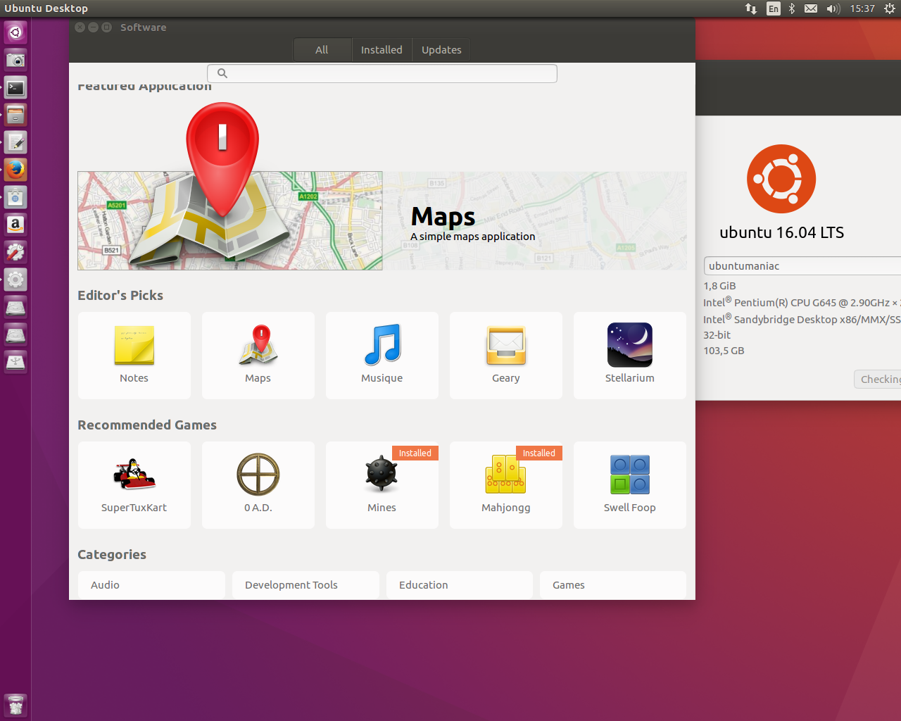 81971c7ee31 Ubuntu 16.04 LTS, due to be released on 21 April 2016, is expected to  include Unity 8 running natively on Mir. It will use systemd instead of  Upstart as its ...