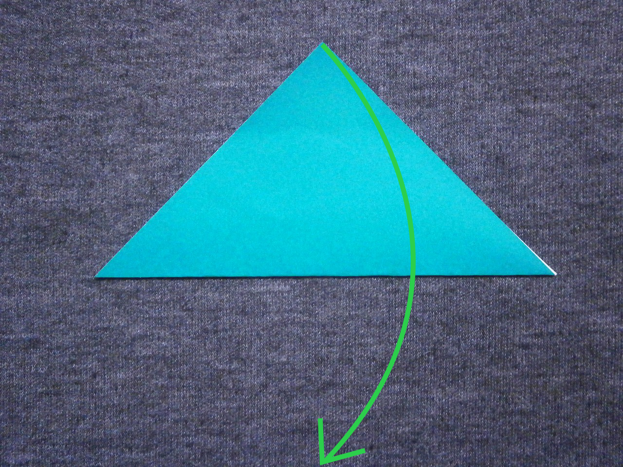 "KATAKOTO ORIGAMI: Step1 ""Valley fold"" - photo#9"