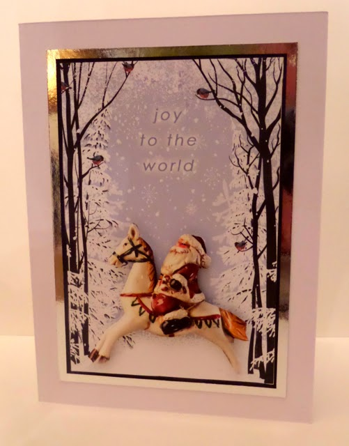 All that Glitters Websters Pages Card 2 a DT project by Clare Charvill for Jones Crafts