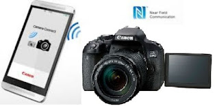 How To Connect Canon Eos 800D To an NFC smartphone via Wi-Fi