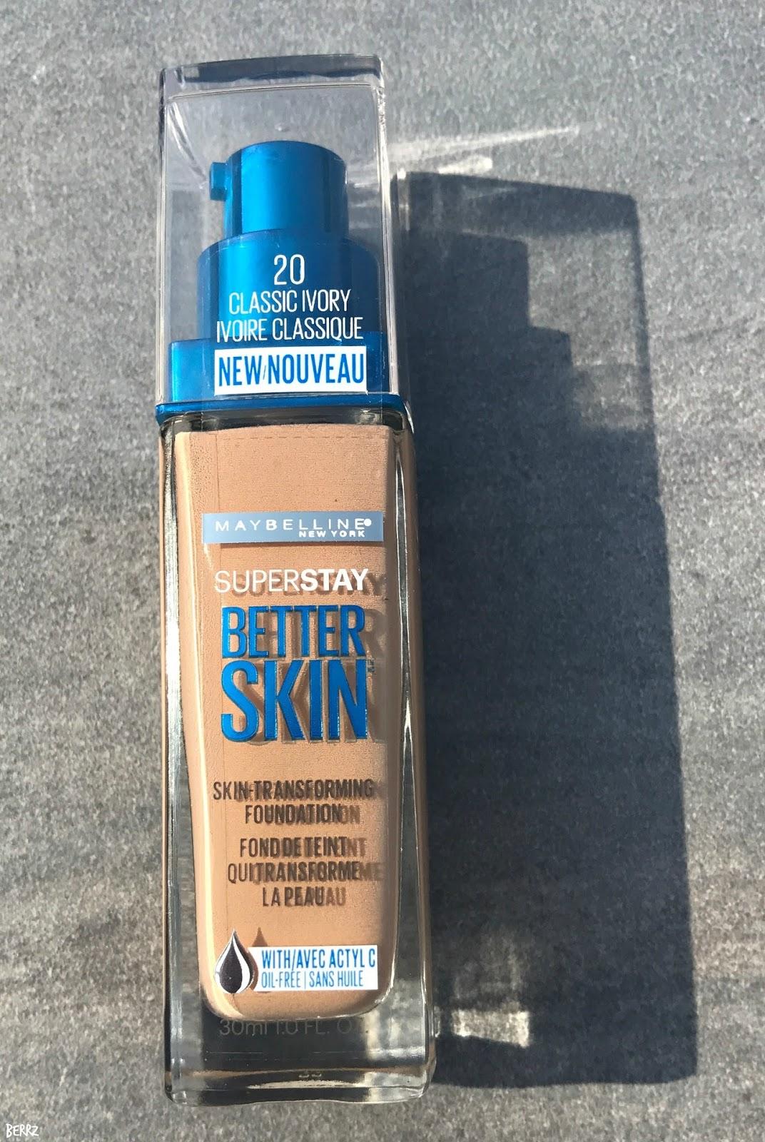 Superstay Better Skin Powder by Maybelline #21