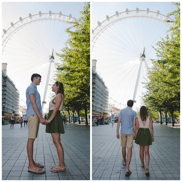 engaged london eye