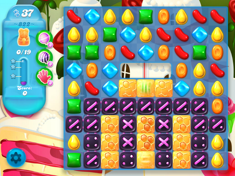 Candy Crush Soda Saga 822