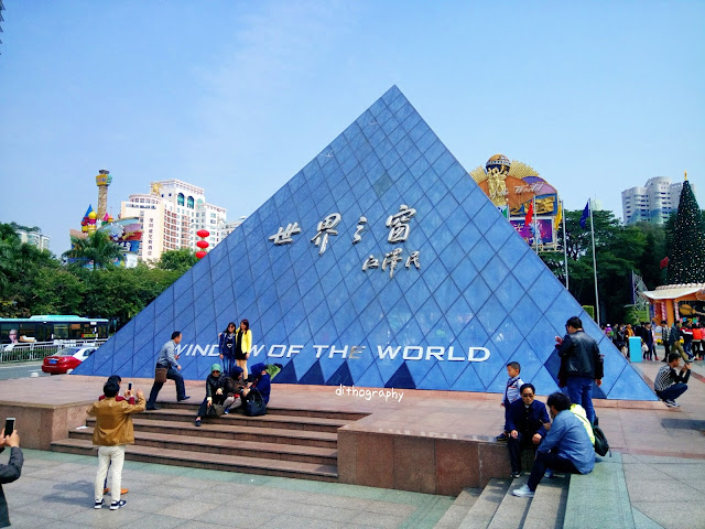 rasanya ada yang kurang lengkap jikalau nggak mampir piknik ke Shenzhen Window of The World [China]