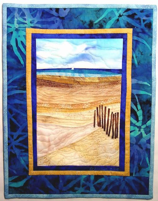 Beaches....an accidental landscape by Karen Eckmeier