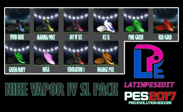 Nike Steam IV SL Pack Boots PES 2017