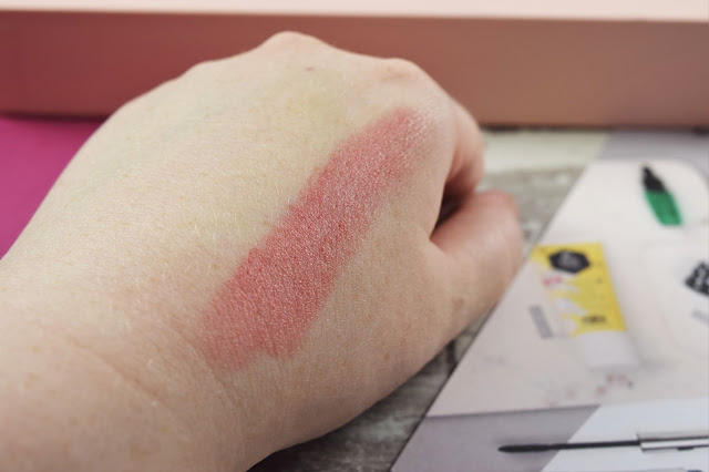 UBC Secret Flush Soothing Cream Blusher and Lip Stain Duo Swatch