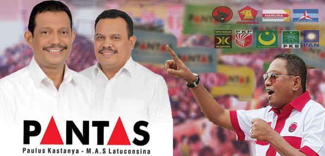 Tim pemenangan pasangan bakal calon Wali Kota dan Wawali Ambon, Paulus Kastanya-S.A.M Latuconsina (PANTAS) menepis adanya isu yang beredar kalau terpilih nanti maka wewenang wakil wali kota justru lebih besar dan dominan