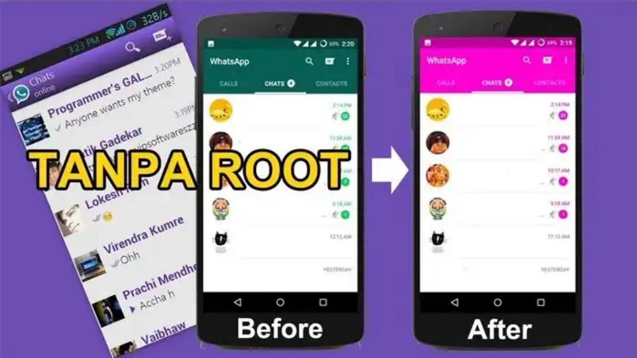 Cara Mengganti Tema WhatsApp Android Terbaru 2019