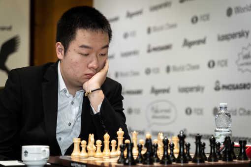 Le joueur d'échecs chinois Wei Yi, n°22 mondial des échecs - Photo © Niki Riga