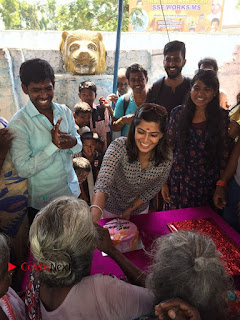 Tamil Actress Varalaxmi Sarathkumar Birthday Celetion Stills  0022.jpg