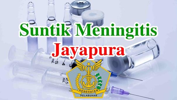 Alamat Tempat Suntik Vaksin Meningitis di Jayapura