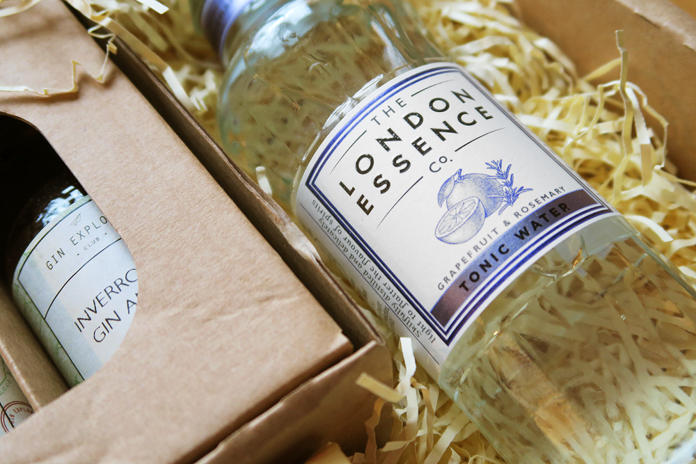 The London Essence Co Grapefruit & Rosemary Tonic Water in the The Gin Explorer Club January Box